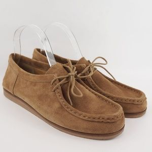 Lucky Brand Loafers Acaciah Tan Leather Chukka